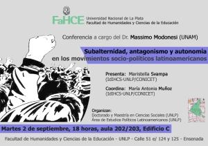 Conferencia Modonesi