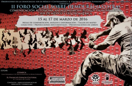 CARTEL_II Foro Social_FINAL