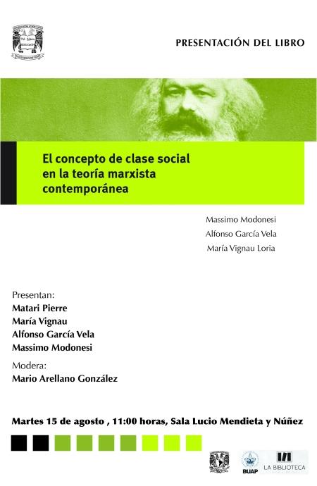 CARTEL El concepto de clase social