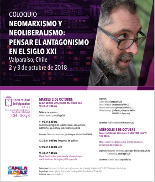 afiche Neomarxismo
